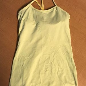 Lululemon Yellow Tank